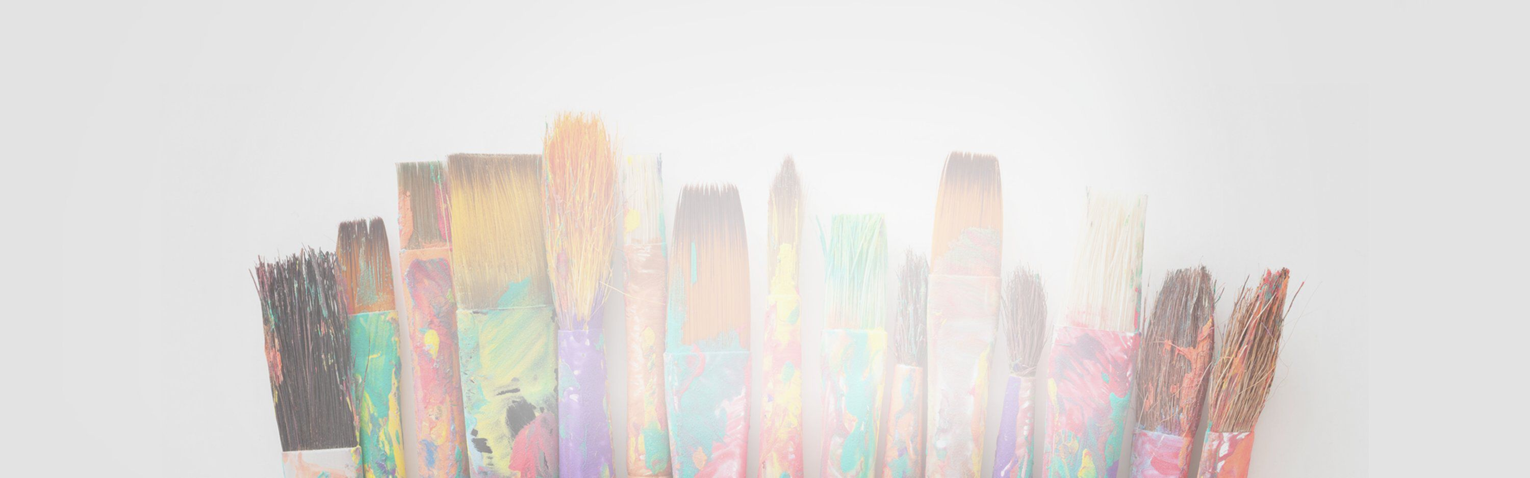 paintbrushes slim banner